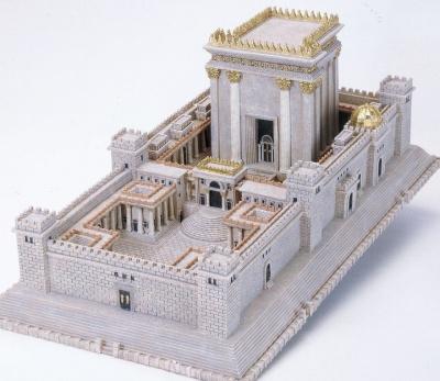 Tempel Salomos Modell