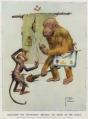 En: Masonic Cartoons – Freimaurer-Wiki